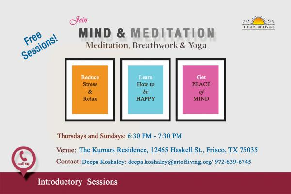 mind and meditation an introduction to the happiness program the