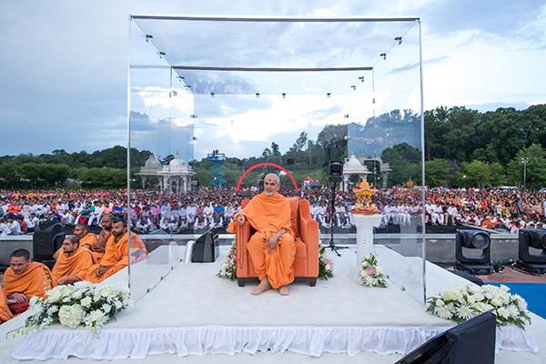 10th Anniversary Celebrations done at BAPS Sri Swaminarayan Mandir