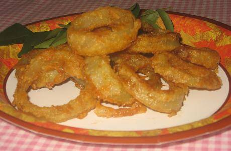 Onion rings recipe on eknazar onion rings by simple indian recipes forumfinder Images